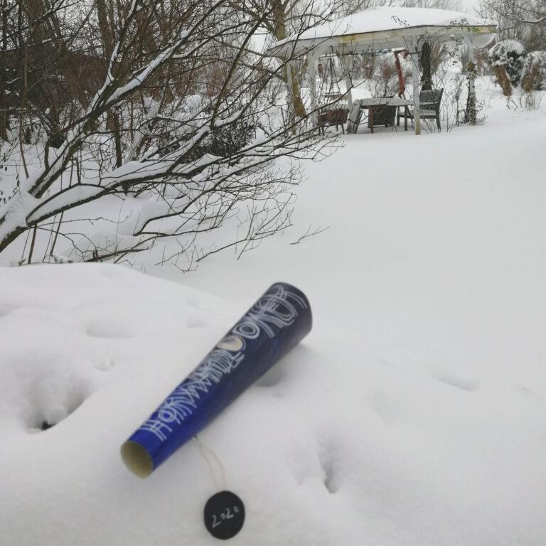 """""""forwardlooker"""" im Schnee von Claudia"""